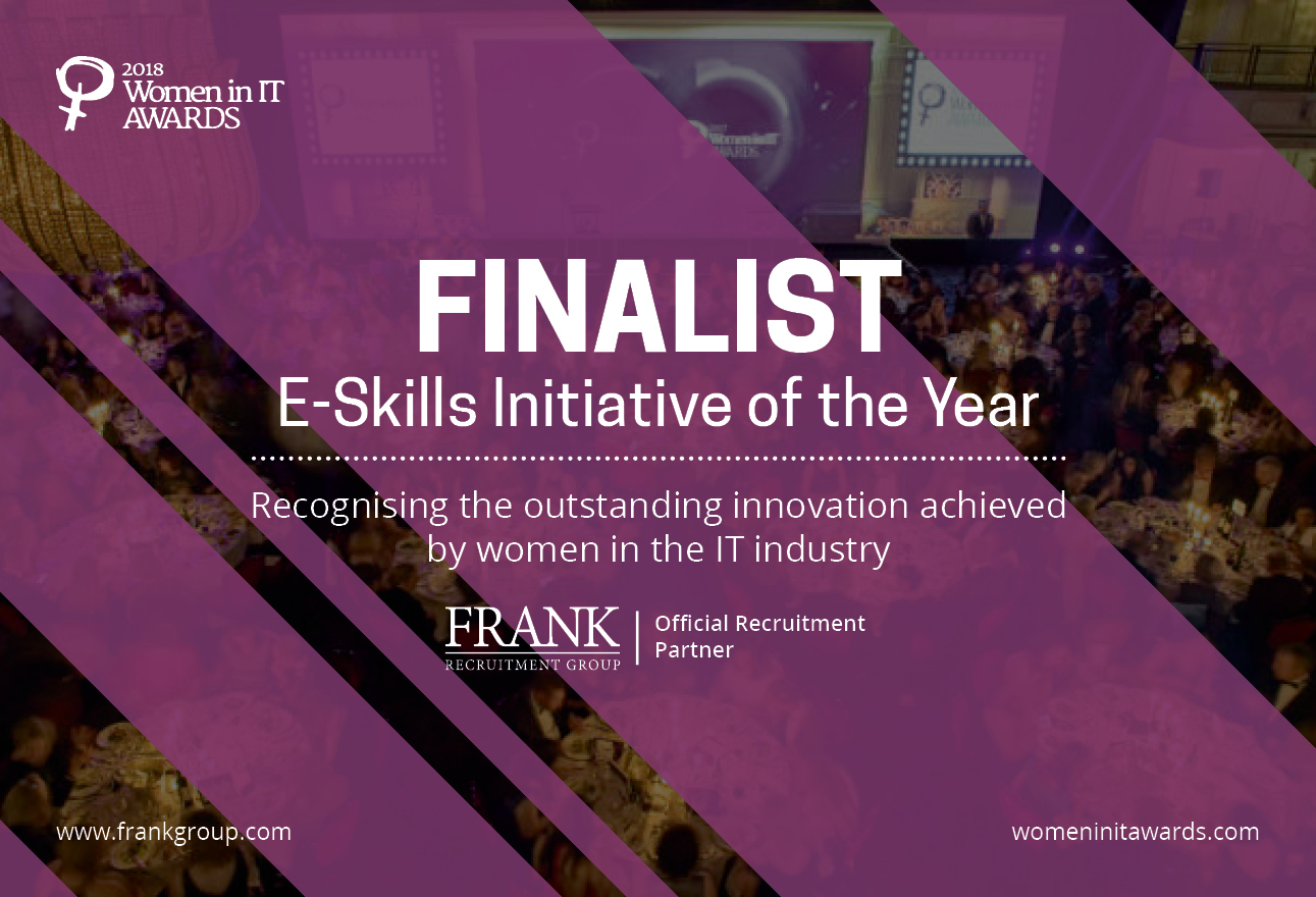 Frank Recruitment Group Nominated for E-Skills Initiative of the Year